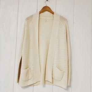 Lou & Grey, knit, wool, rabbit, sweater, cardigan